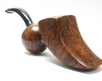Smoking pipe, Tobacco Pipe - Freehand shape, Briar wood