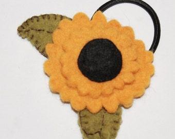 Sunflower in Hair