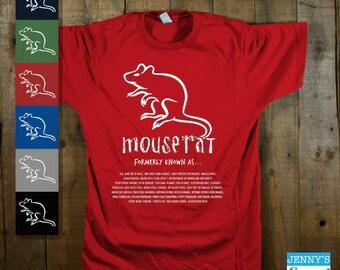 Mouserat Shirt | TV Show Parody T-Shirt | Band Tee