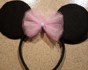 Disney Minnie Mouse Inspired Ears great for Birthday Party, Party favor, or Disney Trip