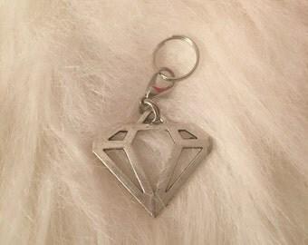 Diamond Logo Charm