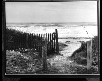 stormy day at sea gate, west beach galveston