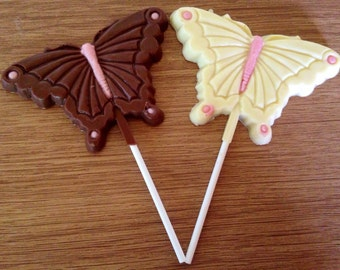 Belgian Chocolate Butterfly