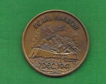 Pearl Harbor Commemorative Coin