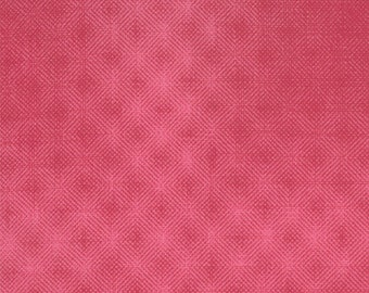 Puzzle Pieces  Prisms (1002-13) Pink - Moda Basic Quilting Fabric by the 1/2 yard