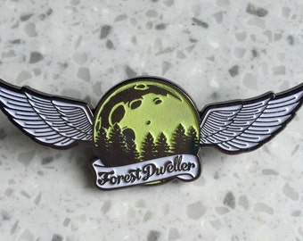 Forest Dweller Hat Pin