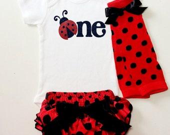 Ladybug birthday, ladybug shirt, ladybug onesie, bodysuit, birthday outfit, first birthday, baby onesie, first birthday, birthday onesie