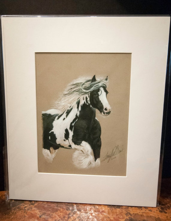 "Fine Art Giclee Print by Terry Kirkland Cook ""Gypsy Horse Stallion"""