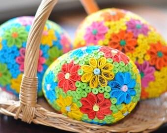 Handmade Easter Egg Decoration
