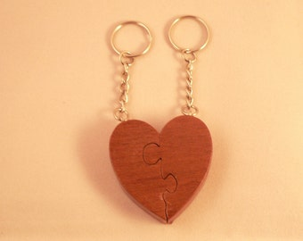 Lovers Heart Keyring