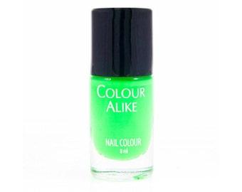 36 B. a Green Light- stamping polish
