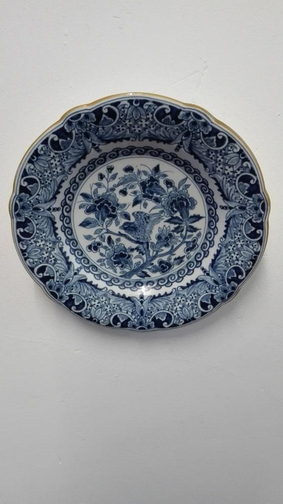 Makkum Wall plate, marked 1229