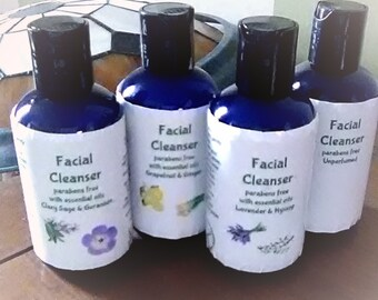 Facial Cleanser - Essential oil blends or pure unperfumed