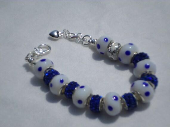 pandora like bracelet by chloescreationdesign on etsy