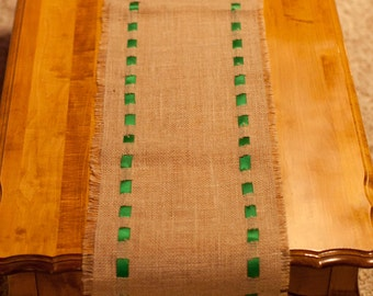 5 Foot Burlap Table Runner