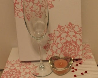 Valentine Champagne Glasses