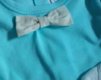 Light Blue Bow Tie Onsie set