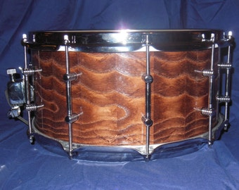 14x7 Solid Stave Ash Snare Drum