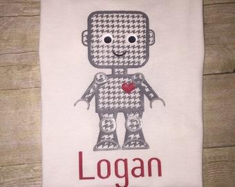 Valentine's Robot shirt