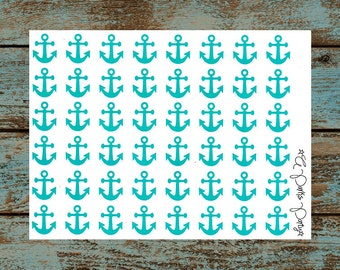 Anchor Planner Stickers (Glossy) [006]