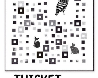 ADD-ON - Only for Sale with THICKET Fabric Purchases -Quilt Pattern Project Sheet Booklet by Gingiber for Moda Fabrics - Ps48200