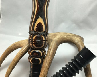 Buckskin Laminate Deer Call with Adjustable Reed and Lanyard ~Available Now!