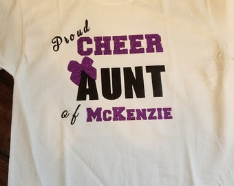 Cheer Aunt T-shirt