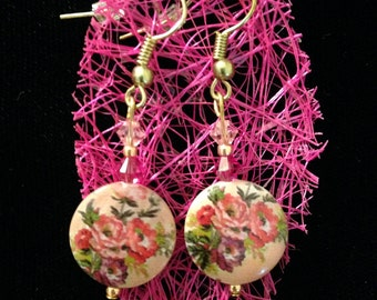 Victorian Floral Earrings