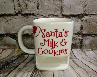 Cookies Milk Cup Etsy