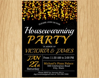 house warming invitations