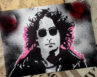 John Lennon (handmade/only one piece) by domingoart