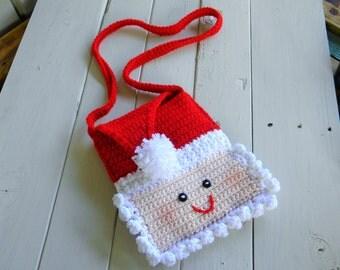 Santa Purse -Still Time To Ship Before Christmas!