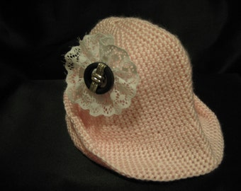 Chic, modern, all occasion, practical fashion accessory baby hat.