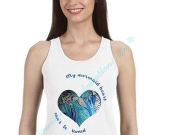 MERMAID HEART TANK