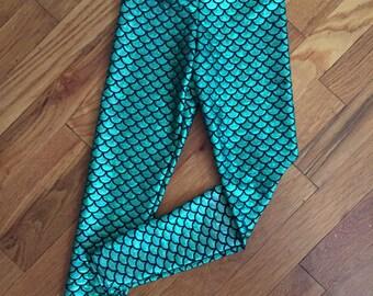 Mermaid/Fish Scale Bonny Leggings