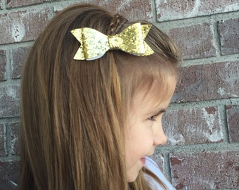 Medium Glitter Glam Bows