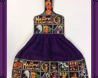 Halloween Hanging Hand Towel/ Mary Eingelbreit Fabric