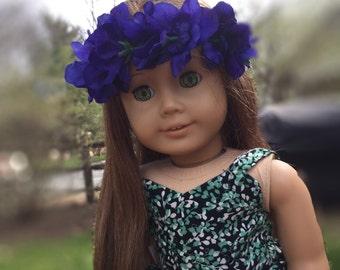 Ag Doll Violet Flower Crown