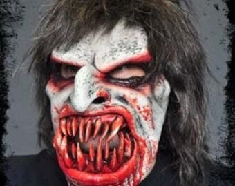 Zombie Monster Deluxe Quality Mask/ Deluxe Scary Halloween Mask/ Deluxe Bloody Halloween Mask/ Demon Monster Deluxe Mask/ Handmade Mask