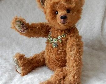 Bekkiebears OOAK artist bear teddybeer Melchior