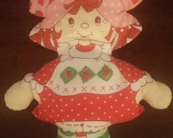 Vintage Strawberry Shortcake Pillow/Plush