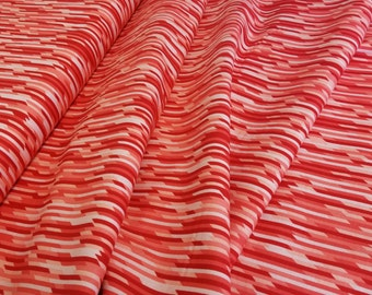 Red Stripe < Desert Bloom Collection by Amanda Herring > Riley Blake Designs < Fabric by the Yard > Red White Stripes