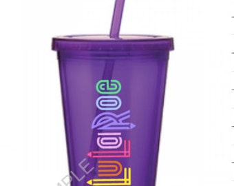 LuLaRoe  16oz Tumblers with straws. *More Colors*