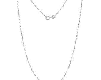 "Upgrade: .925 Italian Sterling Silver Fine Cable Chain 16"" or 18"""