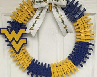 West Virginia Wreath