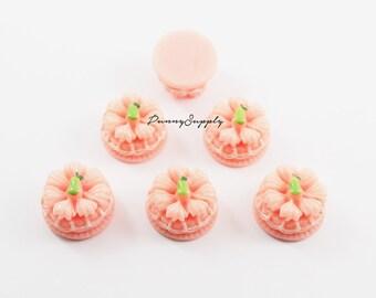 Free Shipping 8 Pcs - Pink Wedding Cake Bakery Resin 3D Cabochon Cab Flat back for Craft Making - MAS.37