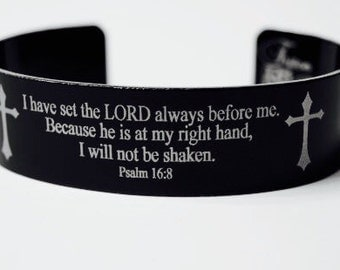 Prayer Bracelet - Psalm 16:8