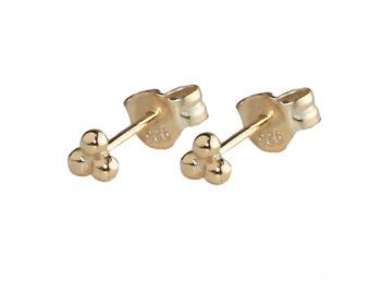 Tiny stud earrings, gold earrings, tiny studs, DOTS EARRING, Gold Stud Earrings, Tiny studs, Bridesmaids gift , Gold Earrings