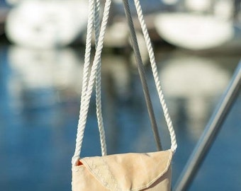 Sailcloth Passport Bag