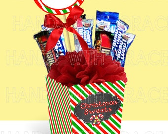 Printable Candy Box (instant download)